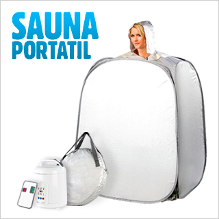 Pack sauna portátil digital