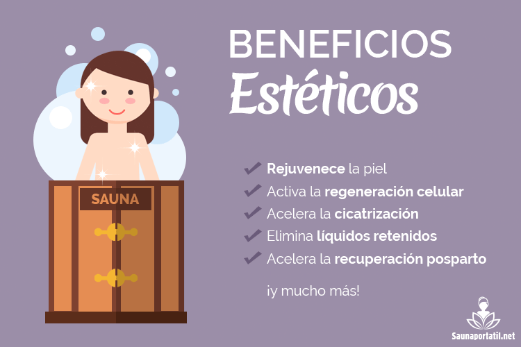 Beneficios esteticos de la sauna