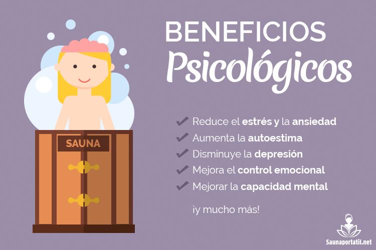 Beneficios psicologicos de la sauna