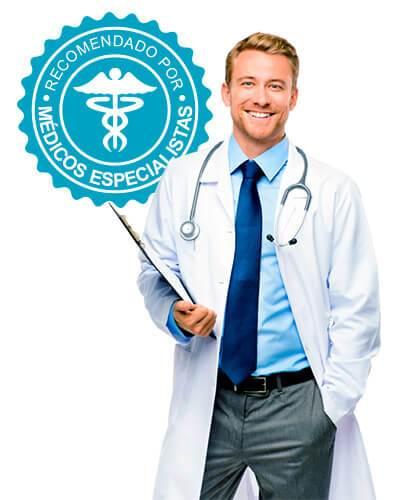 Recomendado por médicos y especialistas