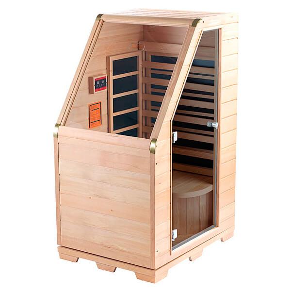 Saunas de madera beautiful ampliar foto with saunas de - Calentador para sauna ...
