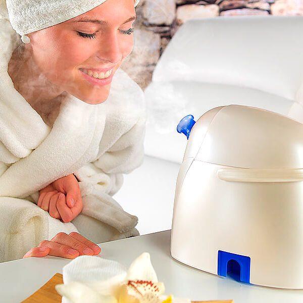 Sauna facial de vapor iónico activo