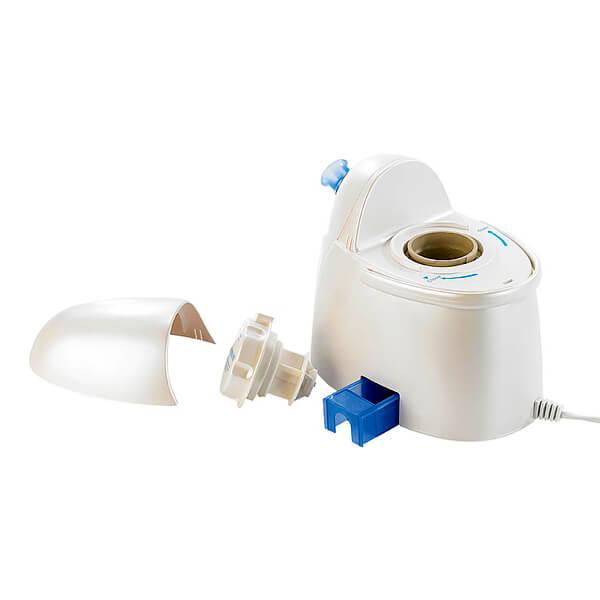 Sauna facial de vapor iónico activo - Componentes