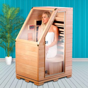 Sauna de Infrarrojos compacta