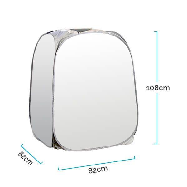 Sauna portatil a vapor 850W - Medidas Cabina