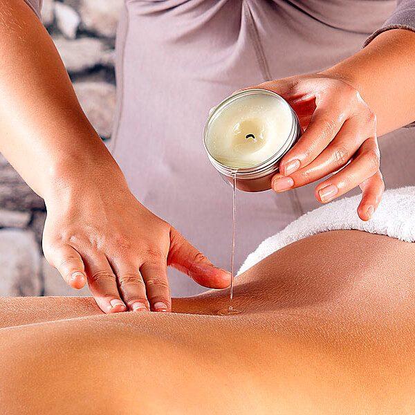 Velas para masaje profesional